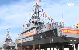 Hạ thủy hai tàu tuần tra cao tốc cho lực lượng Bộ đội Biên phòng