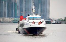Tàu thủy cao tốc TP.HCM - Cần Giờ - Vũng Tàu khai trương trước Tết Nguyên đán