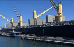 Cảng Cửa Việt (Quảng Trị) đón tàu chở hàng lớn nhất từ trước đến nay