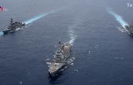 Mỹ điều tàu sân bay đến gần Bán đảo Triều Tiên
