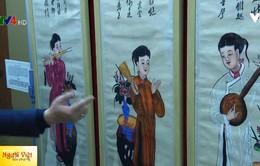 Khai mạc triển lãm tranh Tết truyền thống Việt - Trung