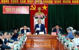 Thủ tướng yêu cầu Phú Yên quyết liệt hơn trong điều hành, chỉ đạo