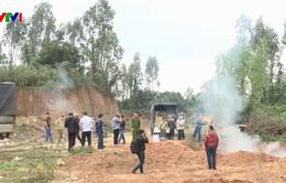 Đà Nẵng tiêu hủy gần 80.000 bao thuốc lá ngoại nhập lậu