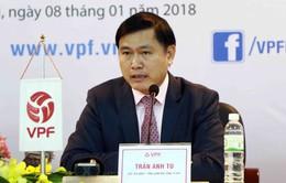 VPF đang xúc tiến đàm phán với nhà tài trợ V.League 2018