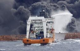 Trung Quốc: Ảnh hưởng môi trường từ sự cố tràn dầu tàu Sanchi