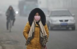 Khói mù bao phủ nhiều vùng Trung Quốc