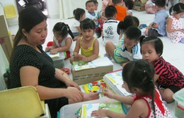 Mỗi lớp mầm non tư thục sẽ có tối đa 70 trẻ