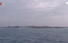 Kết thúc chuyến thăm, tặng quà Tết Trường Sa: Ấm tình đất liền - hải đảo
