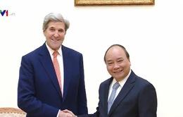 Thủ tướng tiếp nguyên Bộ trưởng Bộ Ngoại giao Hoa Kỳ