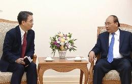 Thủ tướng tiếp Tổng giám đốc Công ty Công nghiệp nặng Doosan Việt Nam