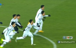 VIDEO Loạt sút luân lưu U23 Việt Nam 4-3 U23 Qatar