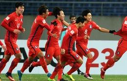 TRỰC TIẾP BÓNG ĐÁ U23 Hàn Quốc - U23 Malaysia: 15h00 ngày 20/1 trên VTV6