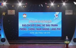 """VTV giành 2 giải tại Giải """"Báo chí với công tác phòng, chống tham nhũng, lãng phí"""""""
