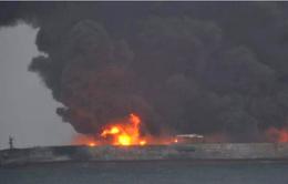 Va chạm tàu chở dầu ở Trung Quốc, 32 thủy thủ đoàn mất tích