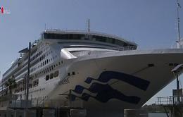 Hơn 200 người nhiễm virus đường ruột trên tàu du lịch ở Australia