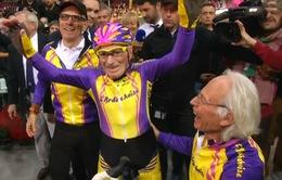 VĐV xe đạp 106 tuổi giải nghệ