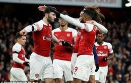 Đại thắng Fulham, Arsenal khởi đầu năm mới 2019 như ý