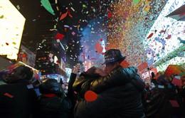 [Video] Người dân New York đếm ngược chào năm mới 2019