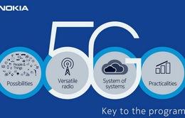 Nokia tham vọng trở lại vị trí dẫn đầu thông qua mạng 5G