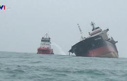 Chưa xác định được danh tính người thiệt mạng trên tàu chở dầu cháy ở Hong Kong