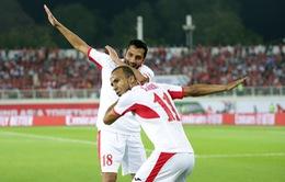 Asian Cup 2019: Thắng thuyết phục ĐT Syria, ĐT Jordan đã giành quyền vào vòng 1/8 sớm 1 vòng đấu