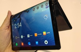 Trên tay smartphone màn hình gập đầu tiên trên thế giới tại CES 2019