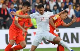 Asian Cup 2019: ĐT Trung Quốc giành chiến thắng dễ dàng với tỉ số 3-0 trước ĐT Philippines