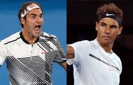Bốc thăm đơn nam giải Australia mở rộng: Federer cùng nhánh đấu với Nadal