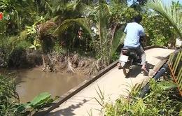 Nhiều tai nạn từ cầu không lan can
