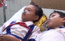 Ngậm nước phòng trừ sâu răng, 45 học sinh nhập viện