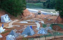 Đà Lạt: Dự án nghỉ dưỡng tiếp tục lấn chiếm đất rừng tại hồ Tuyền Lâm
