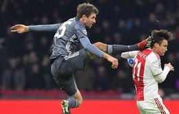 Thomas Muller bị treo giò 2 trận tại UEFA Champions League