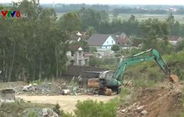 Hà Tĩnh: Nổ mìn khai thác đá, nhà dân bị uy hiếp