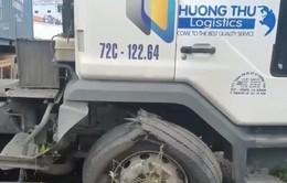 Quá tải container và xe tải khiến tai nạn liên tục xảy ra trên Quốc lộ 51