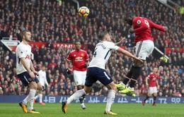 Lịch trực tiếp bóng đá hôm nay (13/1): Man Utd quyết đấu Tottenham tại Wembley