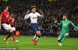 De Gea quá xuất sắc, Man Utd khuất phục Tottenham ngay tại Wembley