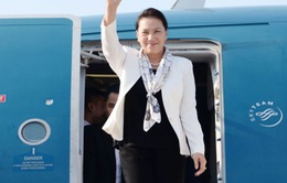 Chủ tịch Quốc hội tới Campuchia bắt đầu dự Hội nghị APPF 27