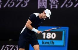 Australia mở rộng 2019: Andy Murray dừng bước ngay từ vòng 1