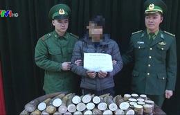 Cao Bằng: Bắt giữ vụ vận chuyển trái phép 51kg ngà voi