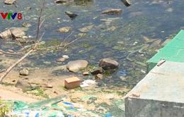 """Đảo ngọc Bình Ba """"ngập ngụa"""" trong rác thải"""