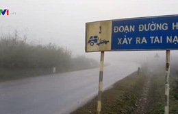 Cẩn trọng tai nạn giao thông do sương mù