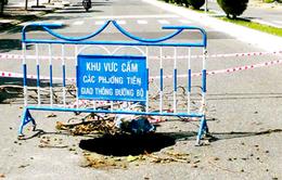 """""""Hố tử thần"""" xuất hiện trên tuyến đường biển đẹp nhất Nha Trang"""