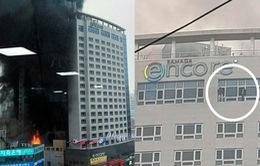 Hàn Quốc: Cháy khách sạn khiến hàng chục người thương vong