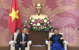 Hợp tác trao đổi thông tin tuyên truyền Việt Nam - Lào