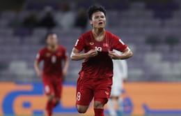 """Quang Hải tái hiện """"cầu vồng"""" ở Asian Cup 2019: Kịch bản quá giống chung kết U23 châu Á!"""
