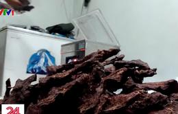 """Hà Nội - Điểm đến của """"đặc sản"""" thịt lợn chết sấy khô"""