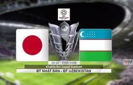 VIDEO Highlight Asian Cup 2019: ĐT Nhật Bản 2-1 ĐT Uzbekistan (Bảng F)