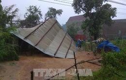 Bình Định hỗ trợ các hộ dân có nhà bị sập, hư hại do mưa lũ cuối năm 2018