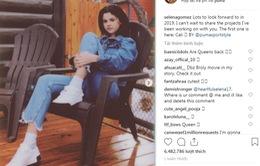Trở lại mạng xã hội, Selena Gomez có kế hoạch khủng cho 2019