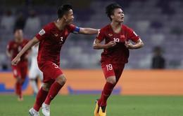 Quang Hải, Quế Ngọc Hải vào ĐHTB vòng bảng Asian Cup 2019